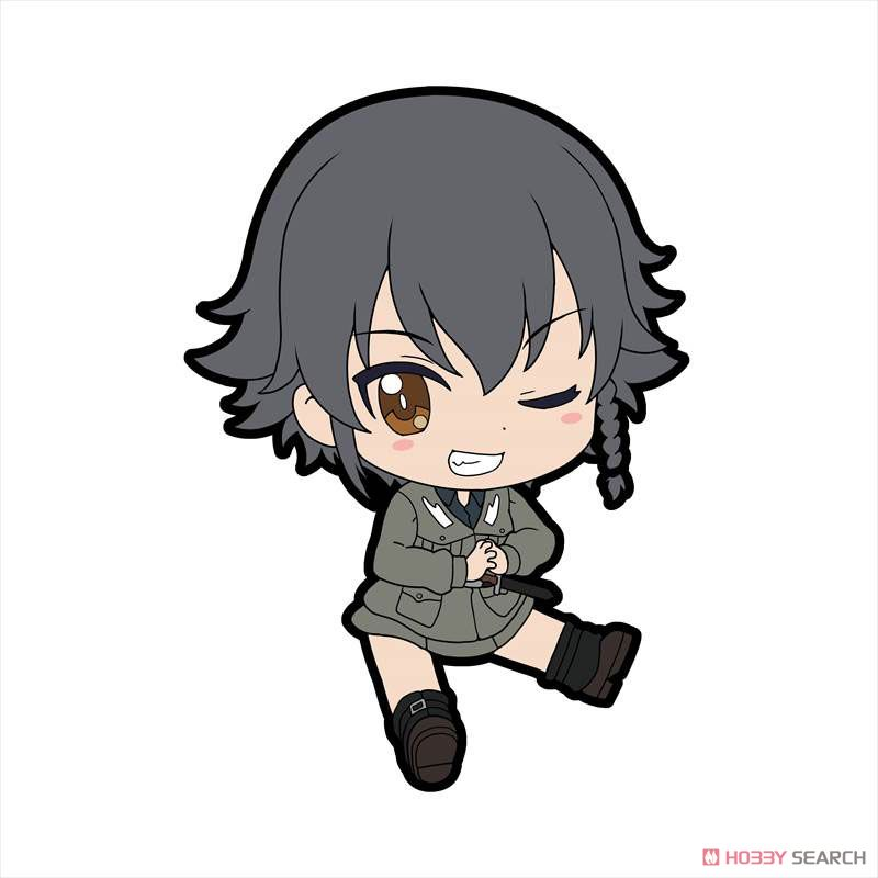 Girls und Panzer das Finale Petanko Trading Rubber Strap Vol.3 (Set of 8) (Anime Toy) Item picture3