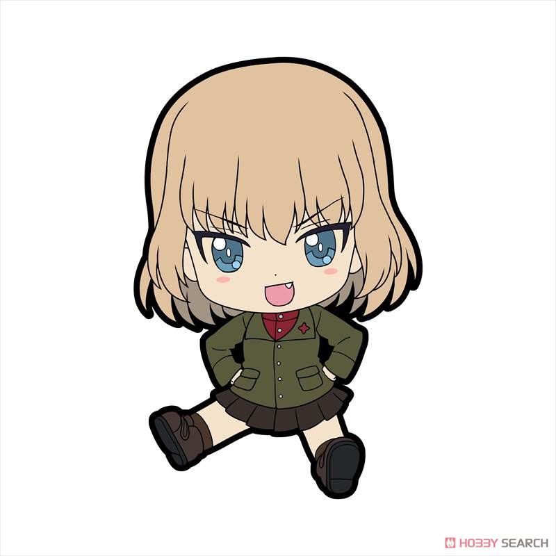 Girls und Panzer das Finale Petanko Trading Rubber Strap Vol.3 (Set of 8) (Anime Toy) Item picture5