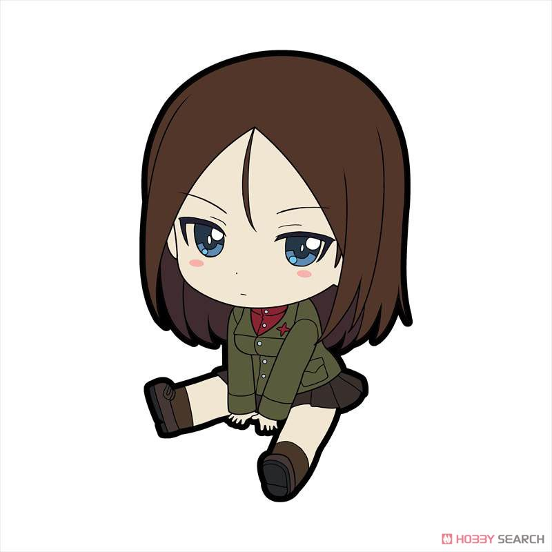 Girls und Panzer das Finale Petanko Trading Rubber Strap Vol.3 (Set of 8) (Anime Toy) Item picture6