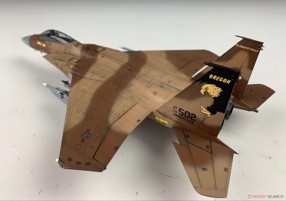 F-15C MSIPII USAF & ANG (Plastic model) Item picture3