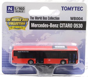 The World Bus Collection [WB004] Mercedes-Benz Citaro 0530 DB (Model Train)