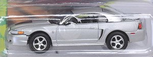 JL 1999 Ford Mustang GT (90`s Muscle) Silver (ミニカー)