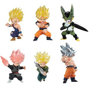 Dragon Ball Advarge Motion (Set of 10) (Shokugan)