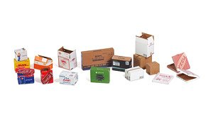 Matho Models 35065 Cardboard Boxes electronic devices 1:35 scale