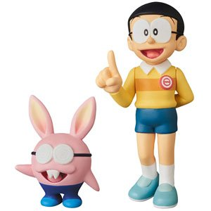 UDF [Doraemon the Movie: Nobita`s Chronicle of the Moon Exploration] Nobita & Nobit (PVC Figure)