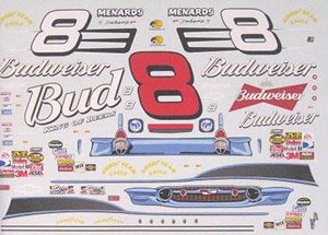 NASCAR Chevy #8 Dale Earnhardt Jr. 2007 (Decal)