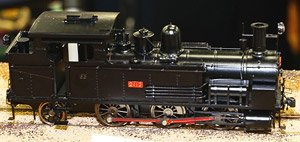 1/80(HO) Steam Locomotive B6 Series Brass Kit 2412 Nagoya City Science Museum Exhibition Type (Unassembled Kit) (Model Train)