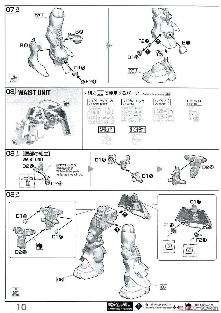 Zaku II FZ (RE/100) (Gundam Model Kits) Assembly guide7