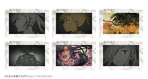 Dororo Square Can Badge Collection Ending Ver. (Set of 6) (Anime Toy)