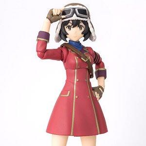 Bandai S.H Figuarts Kylie The Kotobuki Squadron in The Wilderness Figure 135mm