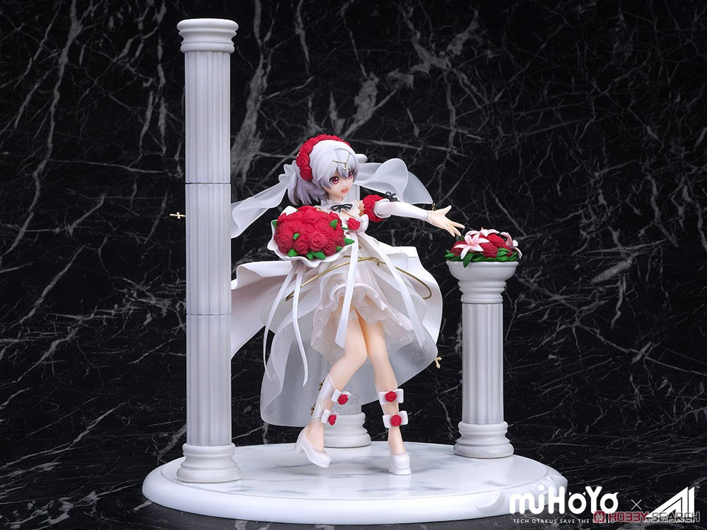 Houkai 3rd Theresa Apokalypse Rosy Bridesmaid Ver. (PVC Figure) Item picture4