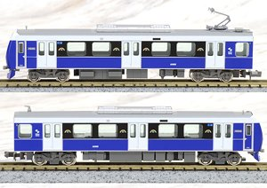 Shizuoka Railway Type A3000 (Elegant Blue) Two Car Formation Set (w/Motor) (2-Car Set) (Pre-colored Completed) (Model Train)