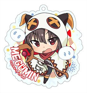 Kono Subarashii Sekai ni Shukufuku o! Kurenai Densetsu Especially Illustrated Acrylic Key Ring [Megumin] (Anime Toy)