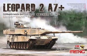 German Main Battle Tank Leopard 2A7+ (Plastic model)