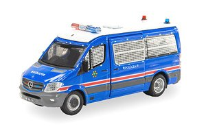 Tiny City MC7 Mercedes-Benz Sprinter (Facelift) Macau Policia de Seguranca Publica (Diecast Car)