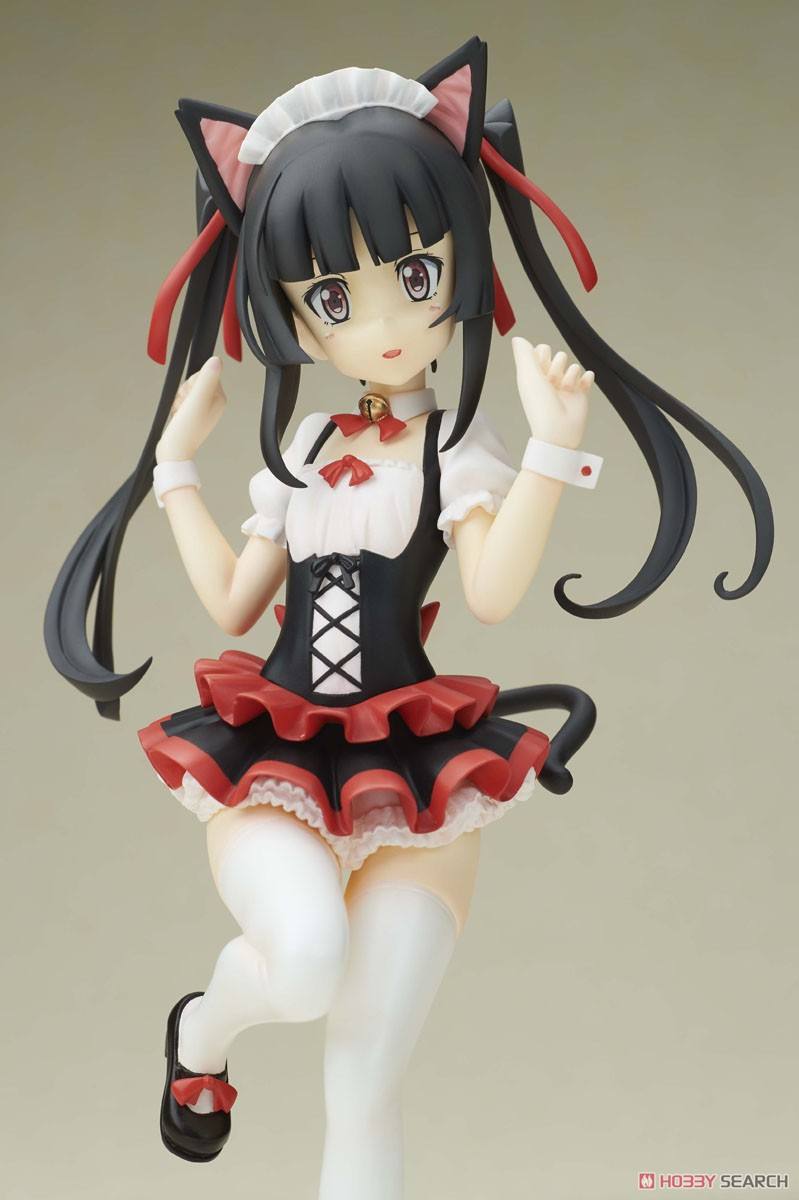 Shirabe Tsukuyomi Maid Ver. (PVC Figure) Item picture3