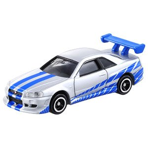 Dream Tomica No.150 The Fast and the Furious BNR34 Skyline GT-R (Tomica)