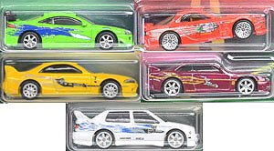 Hot Wheels The Fast and the Furious Premium Assorted Original Fast(Set of 10) (Completed)