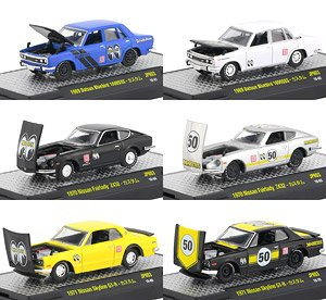 MOONEYES / Auto-Japan Release JPN03 (set of 6) (Diecast Car)