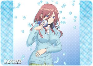 Character Universal Rubber Mat The Quintessential Quintuplets [Miku Nakano] (Anime Toy)