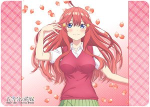 Character Universal Rubber Mat The Quintessential Quintuplets [Itsuki Nakano] (Anime Toy)
