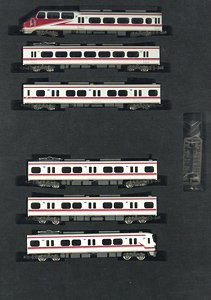 Meitetsu Series 1030/1230 (w/Head Mark for`Panorama Super` Debut 30th Anniversary) Six Car Formation Set (w/Motor) (6-Car Set) (Pre-colored Completed) (Model Train)