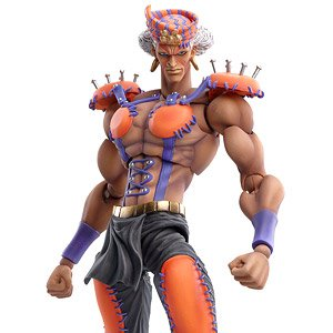 Super Figure Action JoJo`s Bizarre Adventure Part II [Esidisi] (PVC Figure)