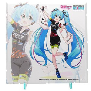 Dioramansion 150: Racing Miku 2019 Pit Optional Panel (Team UKYO Support Ver.) (Anime Toy)