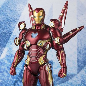 S.H.Figuarts Iron Man Mark 50 Nano Weapon Set 2 (Avengers: Endgame) (Completed)