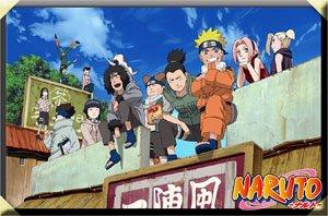 Naruto:Shippuden Magnet 1-2 Hidden Leaf Village Friends (Anime Toy