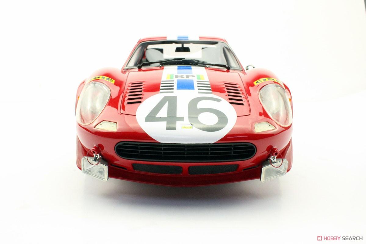 Ferrari Dino 246 Gt 1972 46 Red White Blue Stripe Diecast Car Item Picture4