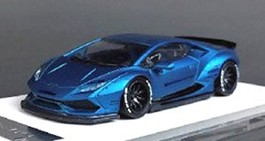 LIBERTY WALK LB-WORKS Huracan LP610 Matt Blue (ミニカー)