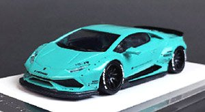 LIBERTY WALK LB-WORKS Huracan LP610 Tiffany Blue (ミニカー)