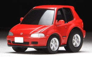 ChoroQ zero Z-61a Civic SiR-II (Red) (Choro-Q)