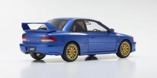 KYOSHO KSR18033BL 1:18 Subaru Impreza 22B STI Version Blue model cars