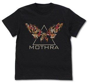 ゴジラ キング・オブ・モンスターズ GODZILLA K.O.M. モスラ Tシャツ BLACK M (キャラクターグッズ