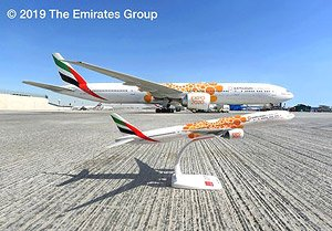 777-300ER Emirates A6-EPO Expo2020 `Opportunity` (Pre-built Aircraft