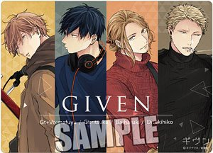 Given B5 Clear Sheet Anime Toy Hobbysearch Anime Goods Store
