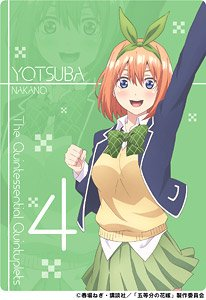 [The Quintessential Quintuplets] Sheet / Yotsuba (Anime Toy)