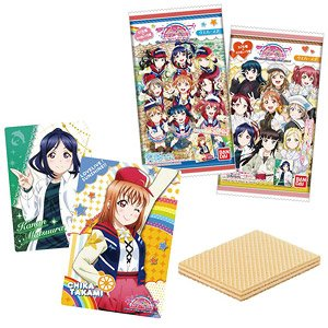 Love Live! Sunshine!! The School Idol Movie Over the Rainbow Wafer 2 (Set of 20) (Shokugan)