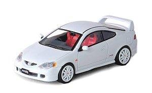 Honda インテグラ TypeR DC5 ボンネットデカール、交換用ホイールセット付 (ミニカー)