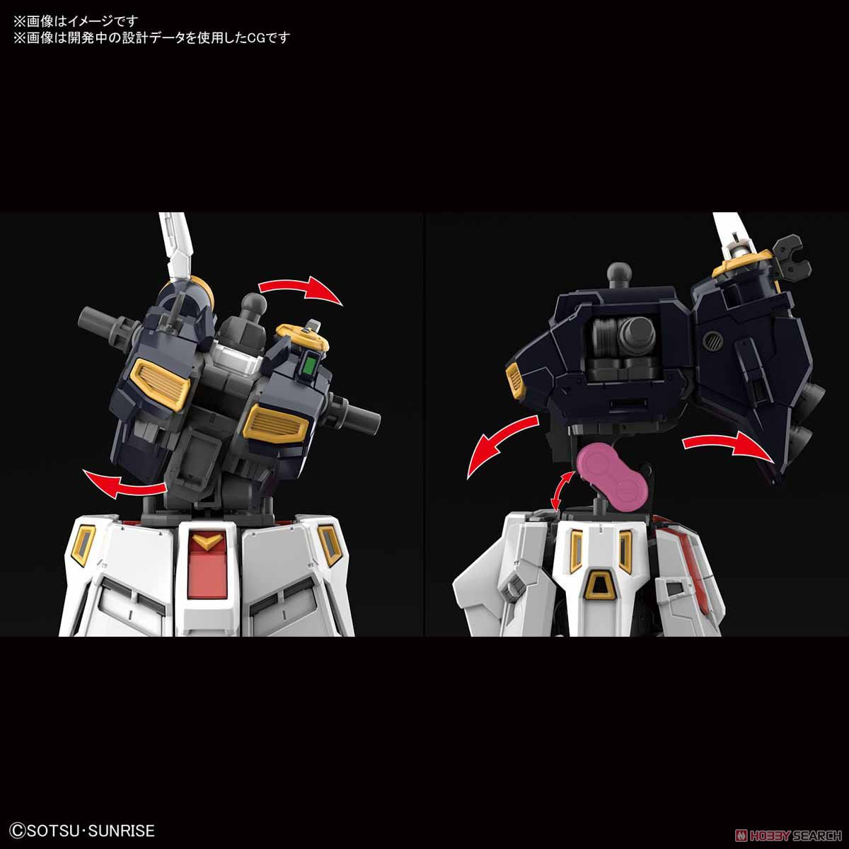 Nu Gundam (RG) (Gundam Model Kits) Other picture5