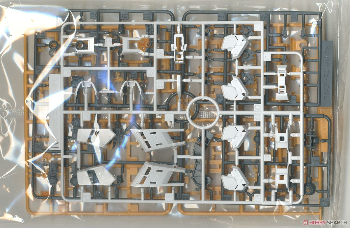 Nu Gundam (RG) (Gundam Model Kits) Contents3