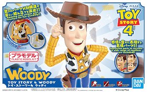 Toy Story 4 Woody (Plastic model)