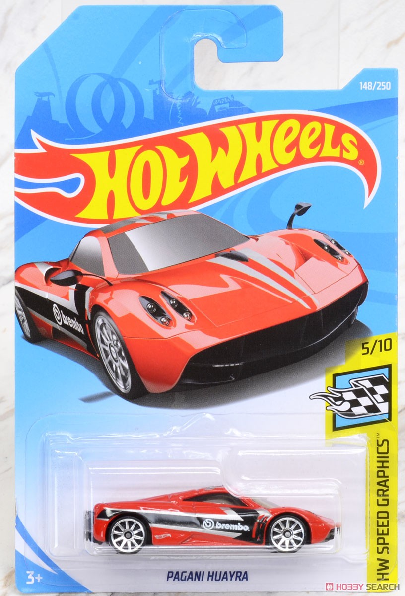 Hot Wheels HW Speed Graphics Pagani Huayra (完成品) パッケージ1