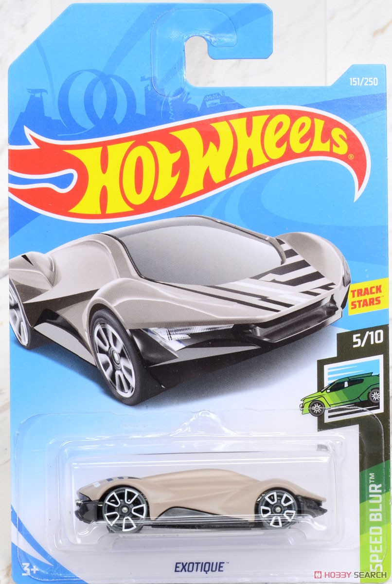 Hot Wheels HW Speed Blur Exotique (完成品) パッケージ1