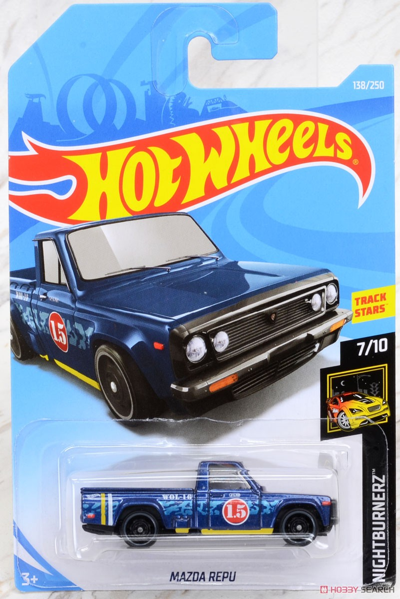 Hot Wheels HW Nightburnerz Mazda Repu (完成品) パッケージ1