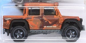 Hot Wheels Baja Blazers `15 Land Rover Defender Double Cab (完成品)