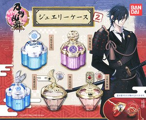 Touken Ranbu Jewelry case2 (set of 5) (Toy)