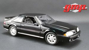 1993 Ford Mustang Cobra - Black with Black Interior (Diecast Car)